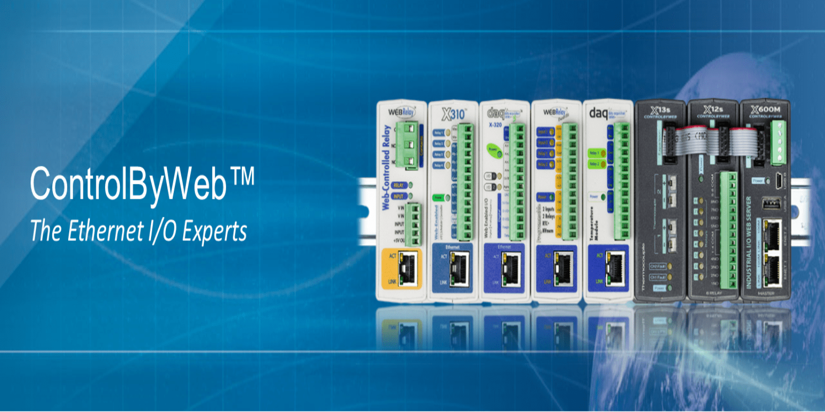 ControlByWeb - Ethernet I/O Experts