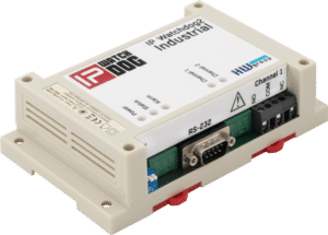 HW group IP WatchDog2 Industrial Industrial detector of internet connection or LAN/RS-232 connected device failure