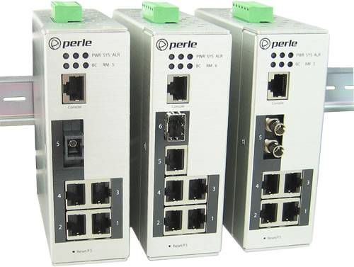Perle industrial ethernet switches