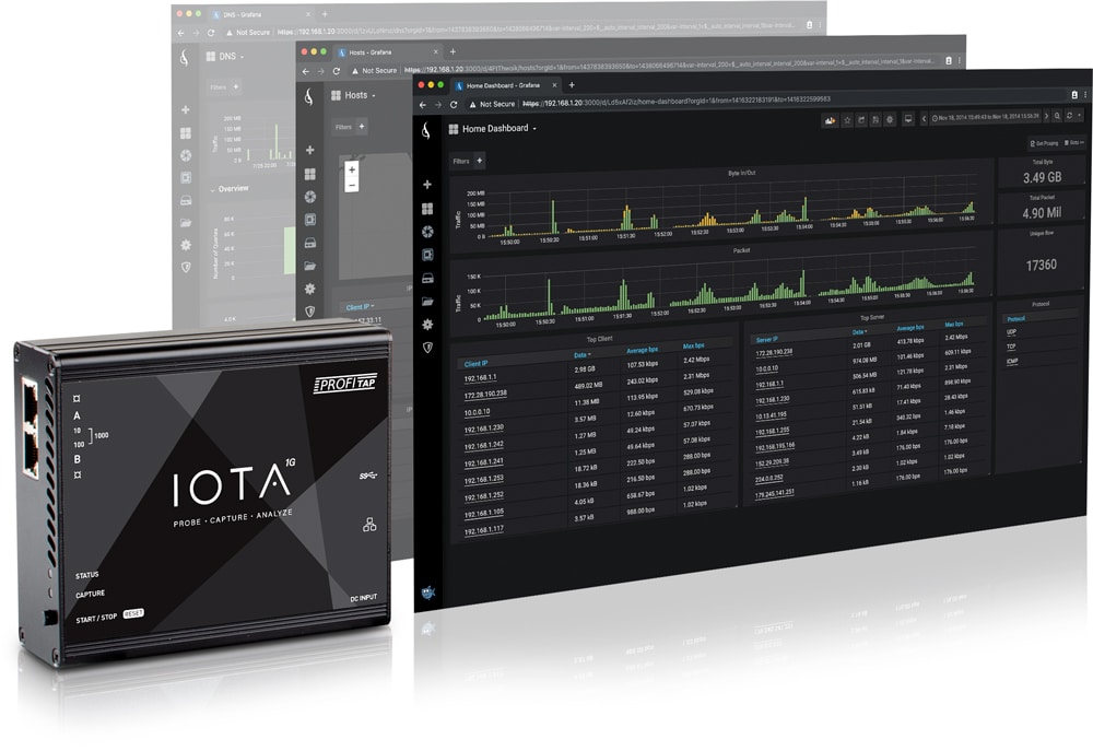 Profitap IOTA 1G All-in-One Network Analyzer
