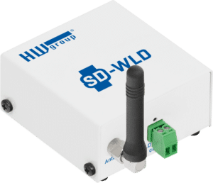 HW group SD-WLD water leak detector with WiFi and LAN
