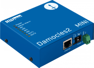 HW group Damocles2 MINI Smart I/O controlled over Ethernet