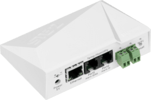 HW group STE2 WiFi and Ethernet, PoE available, temperature and humidity sensor with digital inputs