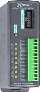 ControlByWeb X-15s Eight Digital Input Expansion Module