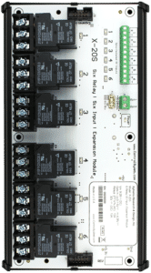 ControlByWeb X-20s 6 Relay, 6 Digital Input Expansion Module