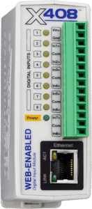 ControlByWeb X-408 Web-Enabled Digital Input Module