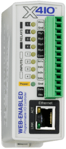 ControlByWeb X-410 Web-Enabled Programmable Controller