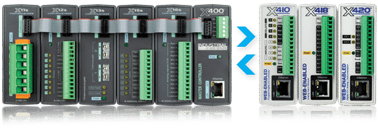 X-400™ Web Enabled I/O Controller