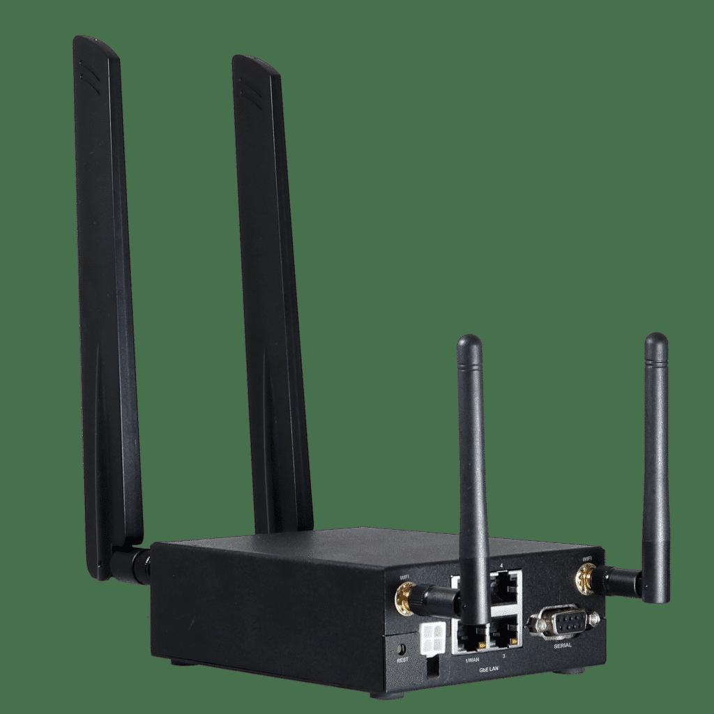 LTE teollisuusreititin laajalla käyttölämpötila-alueella