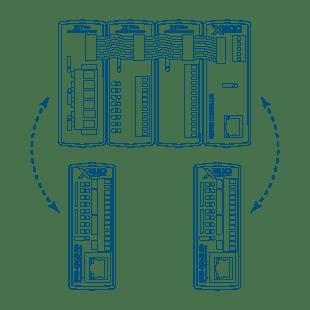 Tyypillisiä ControlByWeb-tuotteiden käyttötapoja