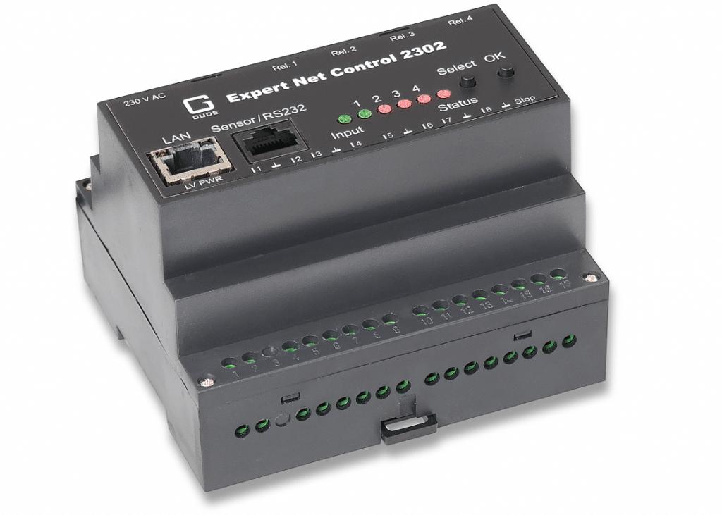 Etä I/O-laite valvontaan ja ohjaukseen