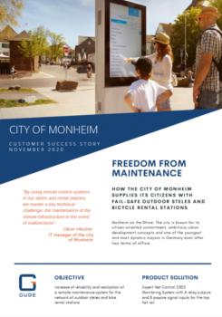 GUDE Customer Success Story - City of Monheim