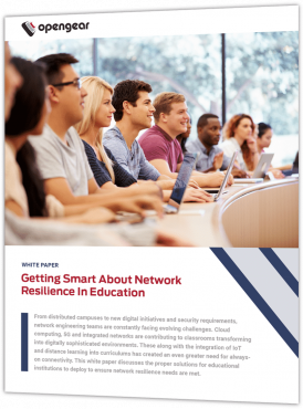 importance of network resilience in education