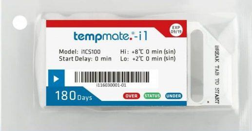 Tempmate-i1 taloudelliseen kuljetuksen lämpötilan seurantaan