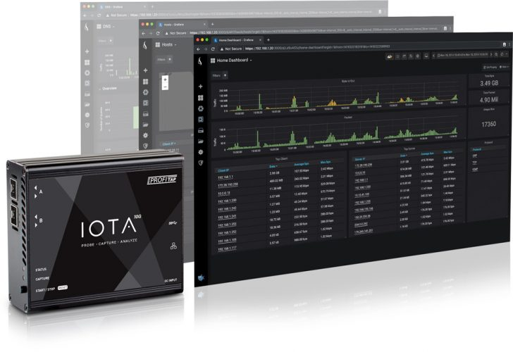 Profitap IOTA 10G All-in-One Network Analyzer